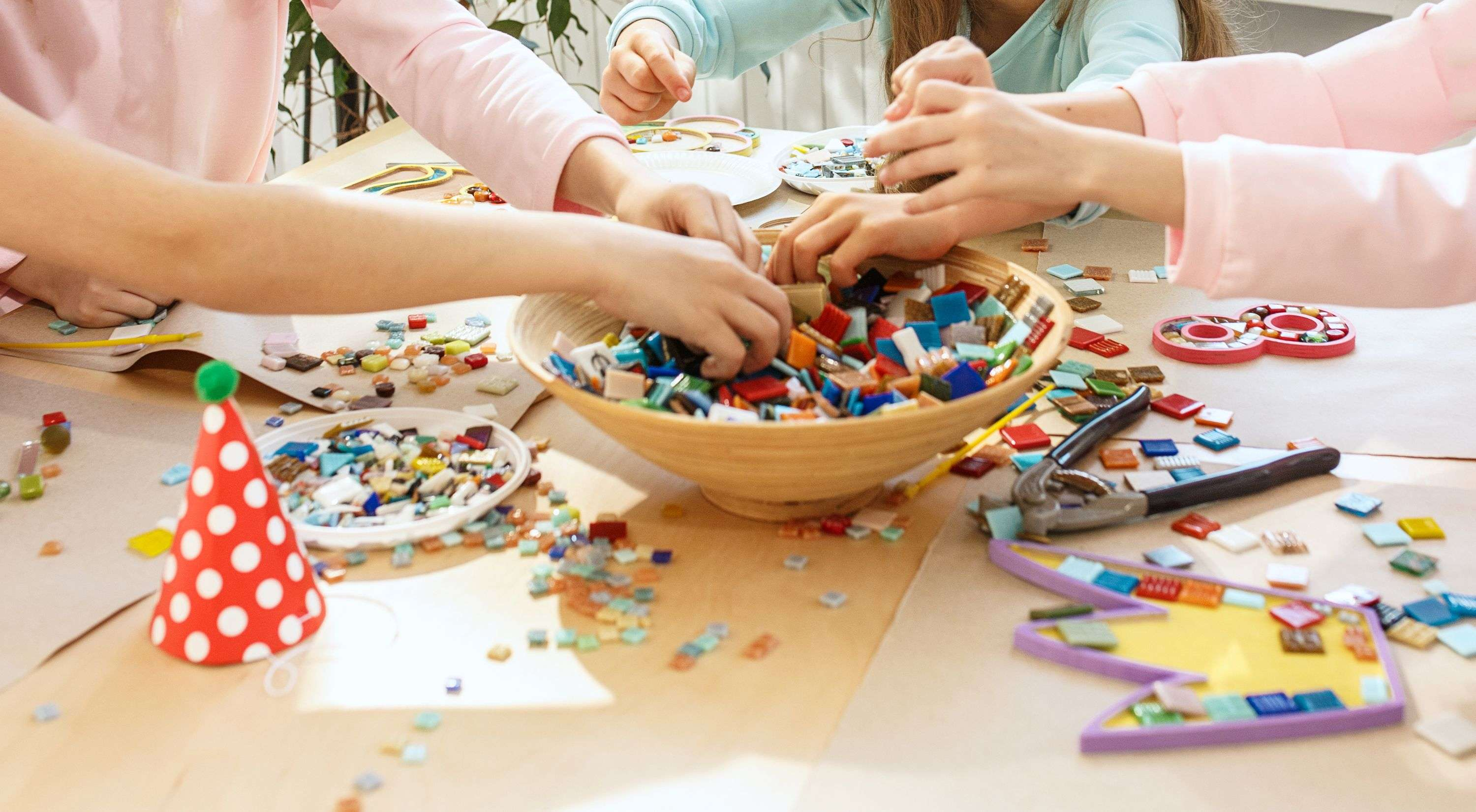 Unstructured plays for kids